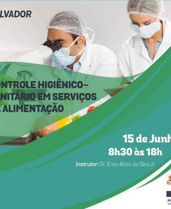 Salvador: Controle Higiênico-Sanitário em Serviços de Alimentação com Dr. Eneo Alves da Silva Jr.