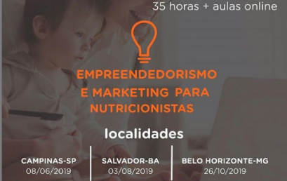 Empreendedorismo e Marketing para Nutricionista