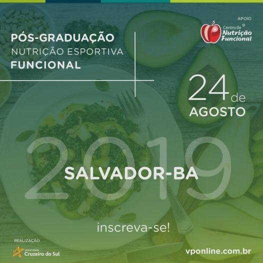 Salvador – Especialização em Nutrição Esportiva Funcional