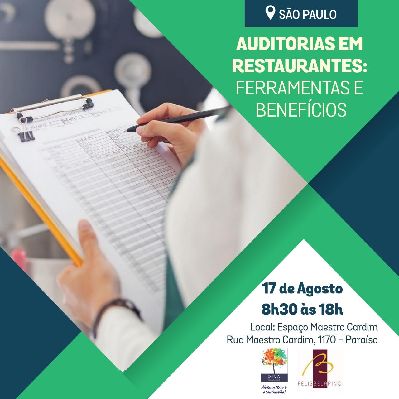 São Paulo – Auditorias em Restaurantes: Ferramentas e Benefícios