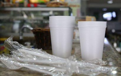 Copos, pratos e talheres de plástico estão proibidos em São Paulo
