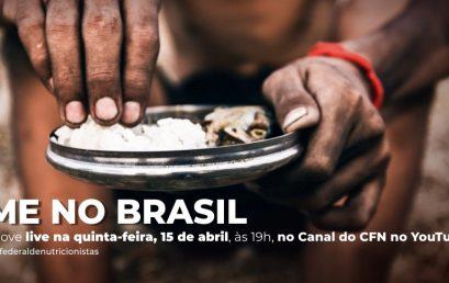 CFN promove live sobre a volta da fome no Brasil