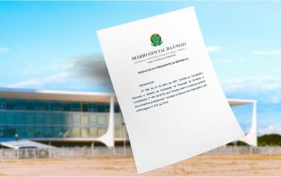 Em mensagem ao Congresso Nacional, governo solicita a retirada de tramitação da PEC 108